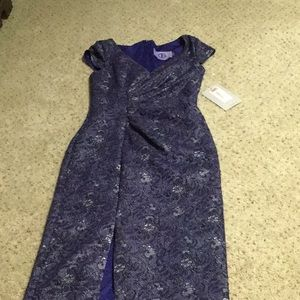 JS COLLECTIBLE BLUE  GOWN SZ 2 NWT - ON HOLD